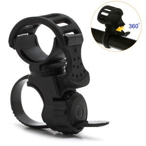 360 Degree Rotation Bicycle Bike Light Mount for Flashlight Torch