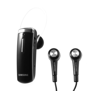 Black Modus 6450 Bluetooth Mono / Stereo Convertible Dual Headset for Samsung Sony HTC LG etc