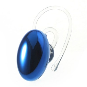 Suicen SX-967 Gemstone Shape Plating Wireless Bluetooth V3.0 Stereo Headset - Blue