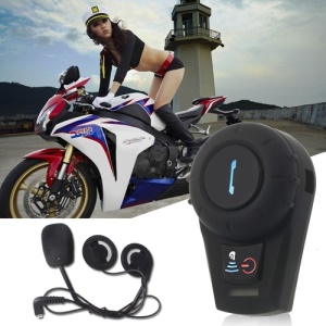500M BT Interphone Bluetooth Motorbike Motorcycle Helmet Intercom Headset