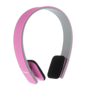 On-ear Sports Bluetooth Headphone with AUX Play Function (BQ-618) - Rose