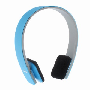 On-ear Sports Bluetooth Headphone Earbuds with AUX Play Function (BQ-618) - Blue