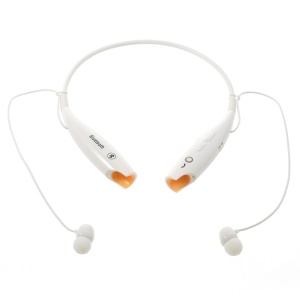 HV-800 Wireless Bluetooth Music Sports Stereo Headset Headphone Vibration Alert on Call - White