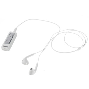 FineBlue I5S 2 in 1 Bluetooth 4.0 Receiver + Dual Mic Noise Isolation Stereo Headset - White