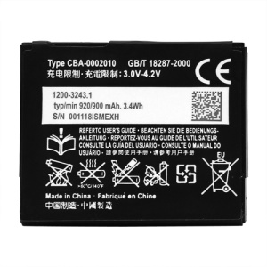 920mAh BST-39 Battery Replacement for Sony Ericsson T707 W380i W508 W910i Z555i