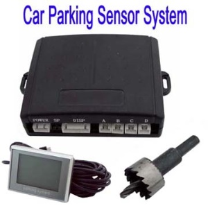 Useful Car Parking Sensor Alarm System with LCD Display