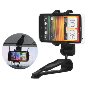 Universal Car Visor Mount Holder for iPhone / Samsung i9300 Galaxy S iii / HTC One X etc