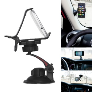 Swivel Clip Style Car Stand Mount Holder for iPhone Mobile PDA GPS PSP XWJ-13HD
