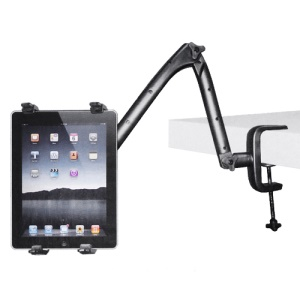 Desk Table Clip Multi-Direction Holder Stand for New iPad Samsung Galaxy Tab, 7 inch ~ 11 inch Tablets