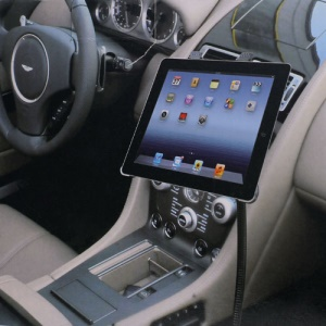 Universal Car Mount Stand Goose Neck for iPad 4 / iPad 3 / iPad 2 / iPad Mini / Samsung Galaxy Note 2 N7100