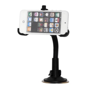 360 Degree Rotating Car Windshield Mount Holder for iPhone 5