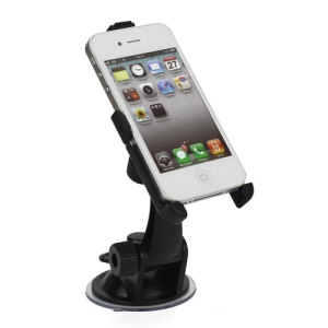 Ball Head Auto Car Mount Holder Cradle for iPhone 4S 4