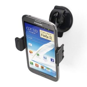 Universal 360 Degree Swivel Car Mount Holder Suction for Samsung N7100 iPhone HTC LG ect, Width: 58mm~85mm
