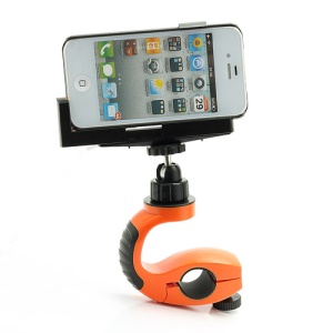 SportPod Z18-5 Multi-function Bicycle Handlebar Mount Holder for Camera iPhone 5 iPhone 4 / 4S Other Smartphones