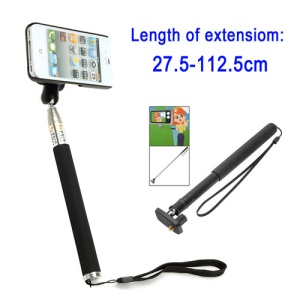 Multifunctional Hand Held 7 Section Self-shooting Mount Stand Z07-3 for iPhone 5 4S 4 Mobilephone Camera DV