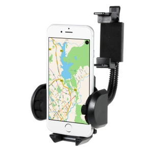 Flexible Car Rearview Mirror Holder Mount for GPS PDA iPhone MP3 MP4 Other Cell Phones