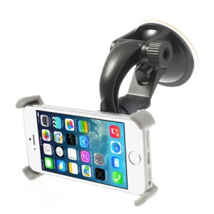Car Windshield 360 Degree Rotary Suction Cup Mount Holder for iPhone 5s 5c 5 4S 4