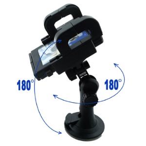 Car Universal Holder for MP3/MP4/Mobile/GPS/PDA(360 Degree Rotatable)