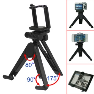 3 in 1 Portable Stand Mount Holder Cradle for Mobile Phone / Digital Camera and Tablet PC