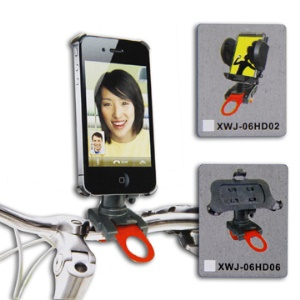 Universal Handlebar Motorcycle/Bicycle Bike Mount Holder for iPhone 4 4S