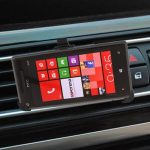 Universal In Car Kit Air Vent Mount Holder for HTC Windows Phone 8X
