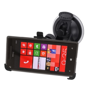 Car Holder Windscreen Suction Mount Cradle for HTC Windows Phone 8X