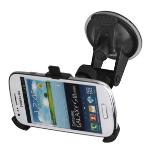 Car Mount Kit Suction Windshield Stand Holder for Samsung i8190 Galaxy S 3 Mini