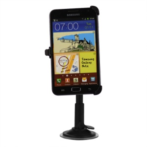 Samsung Galaxy Note I9220 GT-N7000 I717 Swivel Car Mount Holder Cradle with Suction Cup