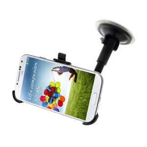 Goose Neck Windshield Car Mount Suction Holder for Samsung Galaxy S IV 4 i9500 i9505