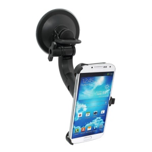 360 Degree Rotation Windshield Car Mount Holder for Samsung Galaxy S IV S4 i9500 i9505 i9502