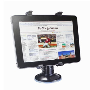Apple iPad Mini 1st 2nd 3rd 4th Gen Retractable Multi-Direction Car Mount Holder Stand w/ Vacuum Suction Cupule