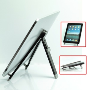 Foldable Metal Holder Stand for iPad, Samsung Galaxy Tab P1000, 7-10 inch MID, Tablet PC