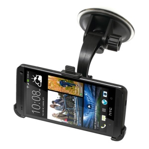 Car Windshield Suction Mount Holder for HTC One M7 801e