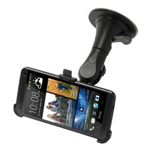 Windshield Car Mount Holder for HTC One M7 801e