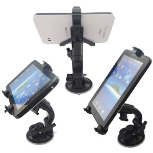 Multi-Direction Car Mount Stand Cradle Suction Holder for Samsung Galaxy Tab iPad PDA Ebook