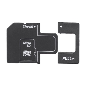 Micro SD TF to SD Card Adapter, Can Connect to USB Interface Directly