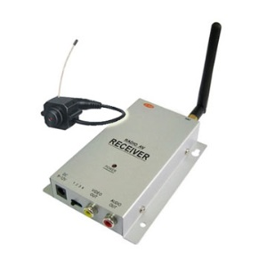 2.4 GHZ Wireless Home Surveillance System w/ World&#39;s Smallest Hidden Cameras, Max support 4pcs camera
