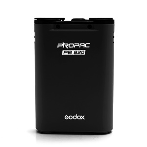Godox PROPAC PB820 External Flash Power Battery Pack for Nikon SB800 EURO SB28DX SB80DX SB800 SB900 - Black
