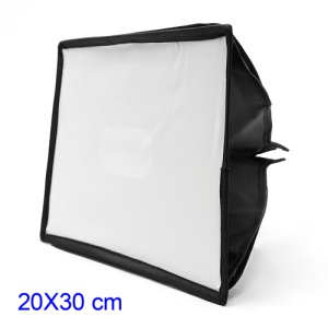 Collapsible Godox SB2030 Studio Softbox Diffuser for Camera Flash, Size: 20 x 30cm