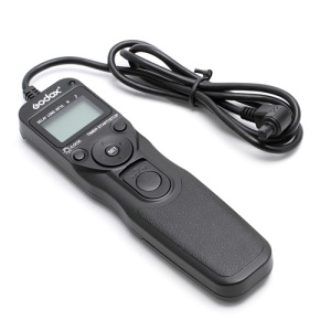 Godox EZA-C3 LCD Timer Control Shutter Remote Cord for Canon RS-80N3