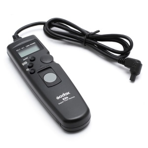 Godox EZB-C3 LCD Timer Remote Shutter Release for Canon 7D 5D MarkII 50D 40D 30D 1D 6D