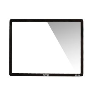 FOTGA Pro Optical Glass LCD Screen Protector Cover for Pentax K-01 K01 DSLR Camera