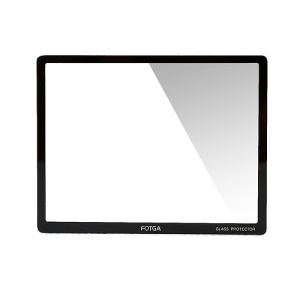 FOTGA 2.7 inch LCD Hard Optical Glass Screen Protector for Digital Camera Canon Nikon Sony