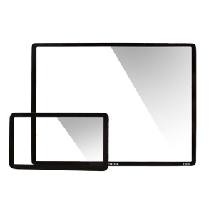 FOTGA LCD Screen Protector Optical Glass Guard for Nikon D800 DSLR