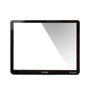 FOTGA Rigid Optical Glass LCD Hard Screen Protector for Nikon D3200 DSLR Camera