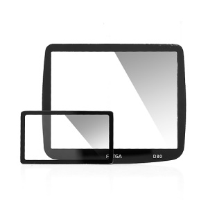FOTGA Optical Rigid LCD Screen Glass Protector for Nikon D80