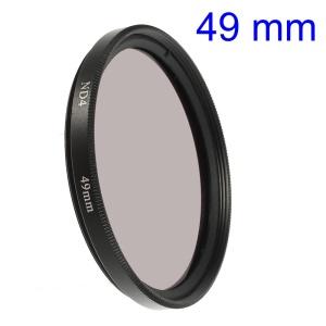 49mm Neutral Density ND4 Lens Filter for Digital Camera Camcorder