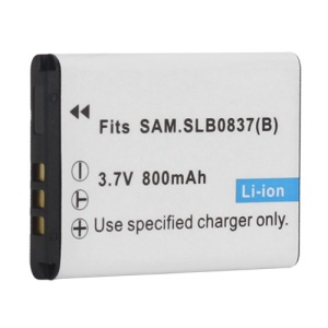 Samsung 0837B Li-ion Battery for Samsung L70 NV15 NV20 SL201 NV10