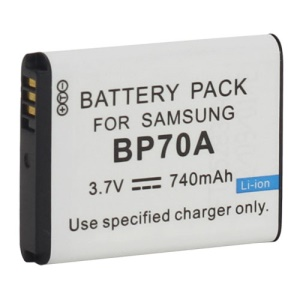 BP-70A BP70A Li-ion Rechargeable Battery for Samsung ES70 ES71 ES73 ES74 ES75 Digital Camera