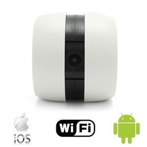 Wireless Portable GOOGO WiFi Camera for Apple iOS and Android Mobile Phones No Router Required